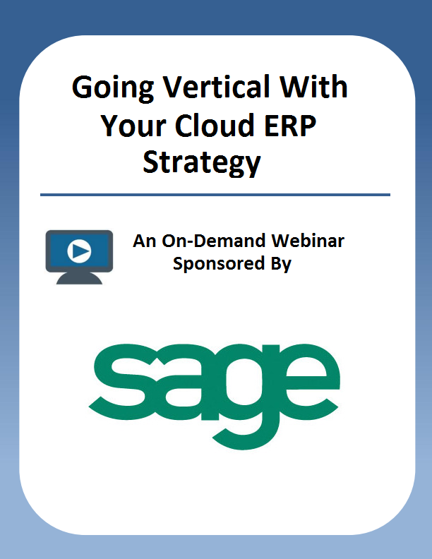 Going Vertical With Your Cloud ERP Strategy