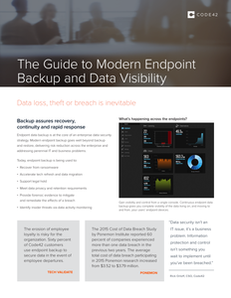 The Guide to Modern Endpoint Backup and Data Visibility