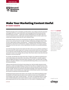 Make Your Marketing Content Useful