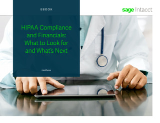 HIPAA Compliance and Financials: What to Look for and What's Next