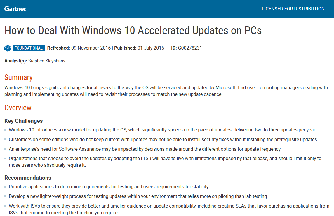 How to Deal With Windows 10 Accelerated Updates on PCs