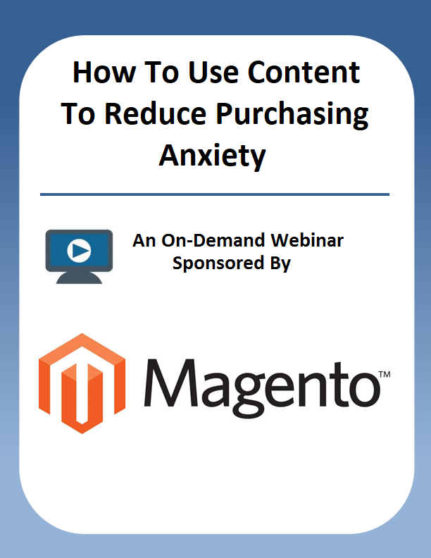 How To Use Content To Reduce Purchasing Anxiety