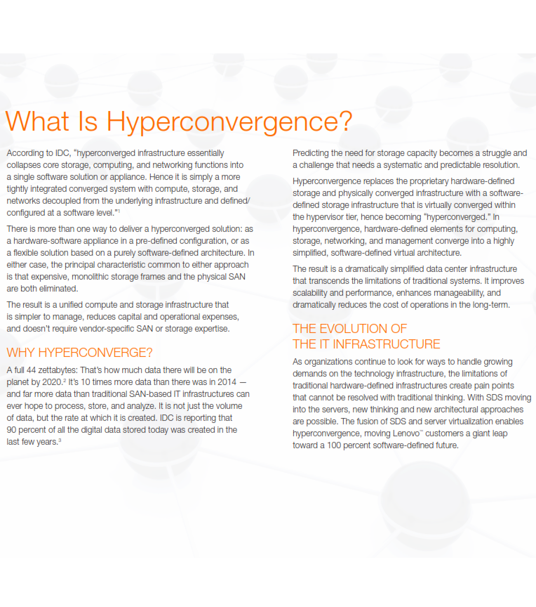 What Is Hyperconvergence?