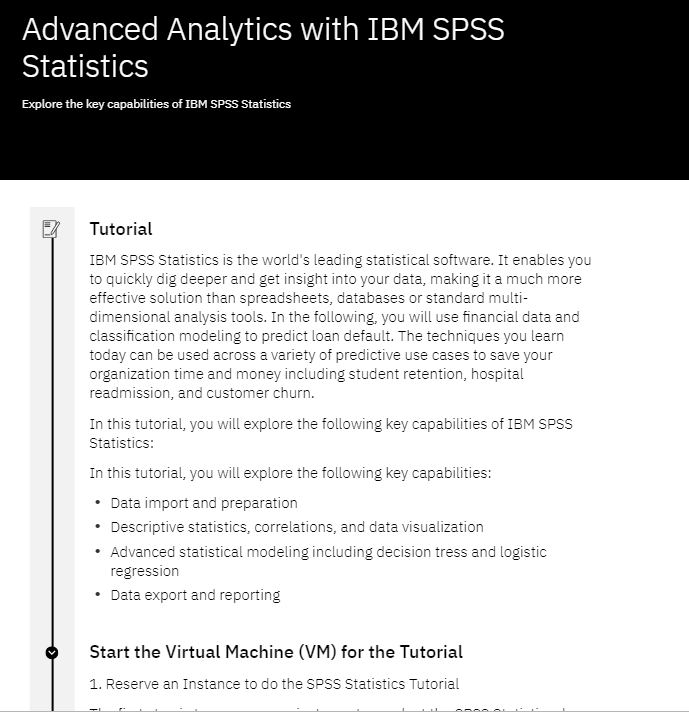 Exploring the World's Leading Statistical Software – IBM SPSS Statistics