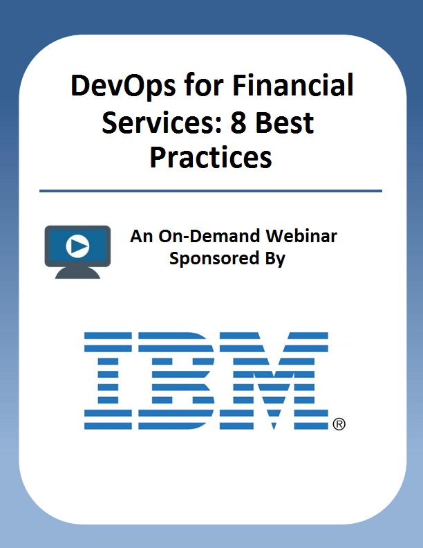 DevOps for Financial Services: 8 Best Practices