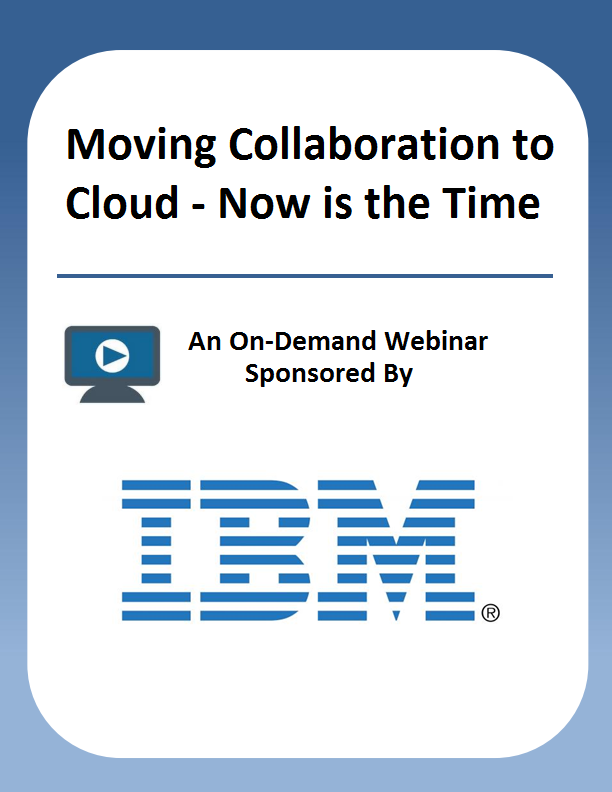 Moving Collaboration to Cloud – Now is the Time