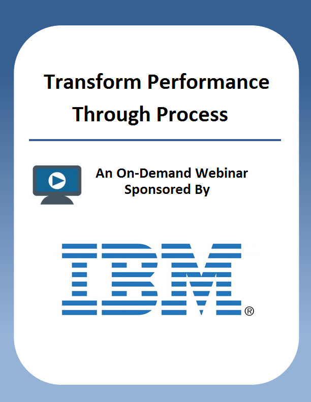 Transform Performance Through Process