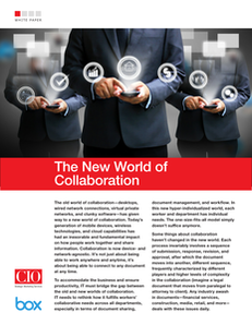 The New World of Collaboration
