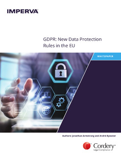 GDPR: New Data Protection Rules in the EU