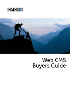 Web CMS Buyers' Guide