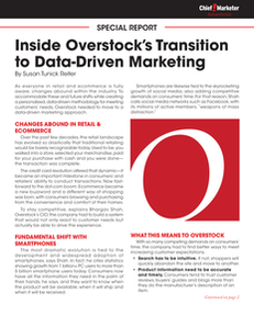 Inside Overstock's Transition to Data-Driven Marketing
