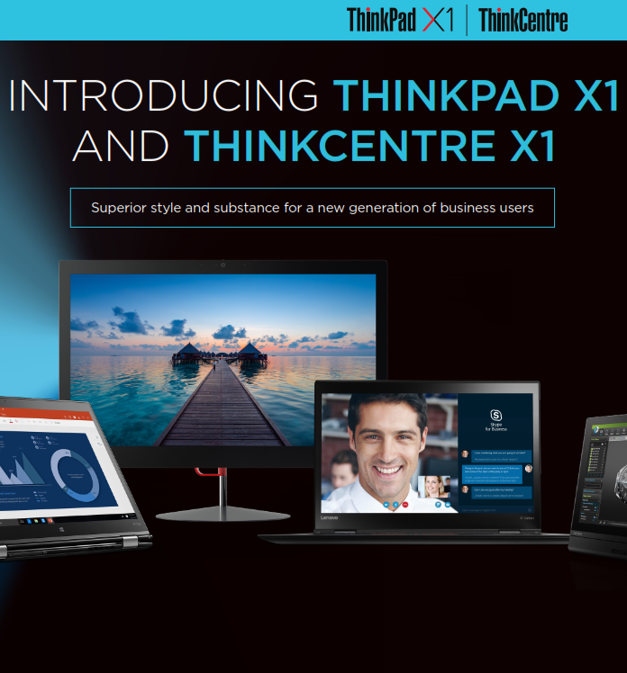 Introducing ThinkPad X1 and ThinkCentre X1