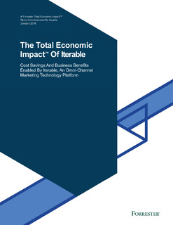 The Total Economic Impact of Iterable™