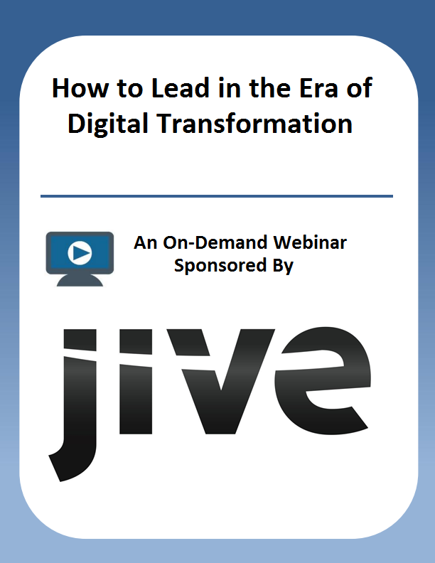 How to Lead in the Era of Digital Transformation