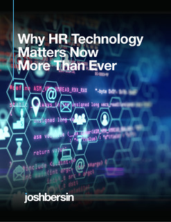Why HR Technology Matters Now More Than Ever