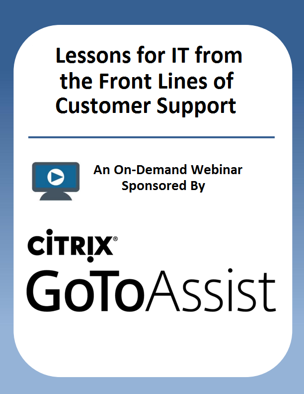 Lessons for IT from the Front Lines of Customer Support