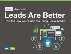 Likes are Great: Leads are Better – How to Grow Your Business Using Social Media