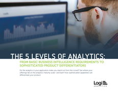 The 5 Levels of Analytics: From Basic Business Intelligence Requirements to Sophisticated Product Differentiators