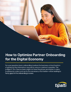 How to Optimize Partner Onboarding for the Digital Economy