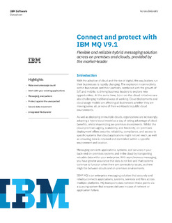 Connect and Protect with IBM MQ V9.1