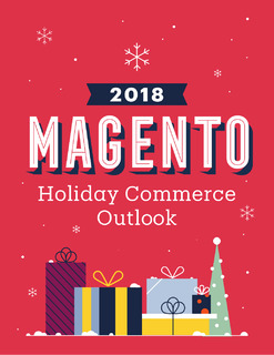 Magento 2018 Holiday Commerce Outlook