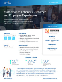 Mathematica Enhances Customer and Employee Experiences