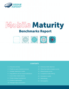 Mobile Maturity Benchmarks Report