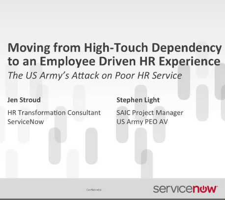 The US Army's Attack On Poor HR Service