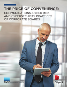 The Price of Convenience: Communications, Cyber Risk, and Cybersecurity Practices of Corporate Boards