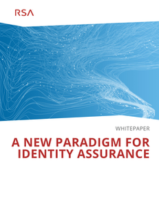 A New Paradigm for Identity Assurance