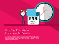 Four Best Practices to Prepare for Tax Season