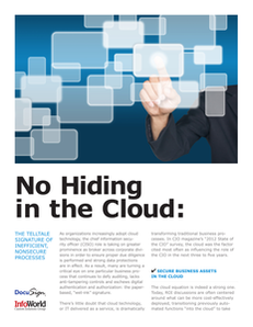 No Hiding in the Cloud