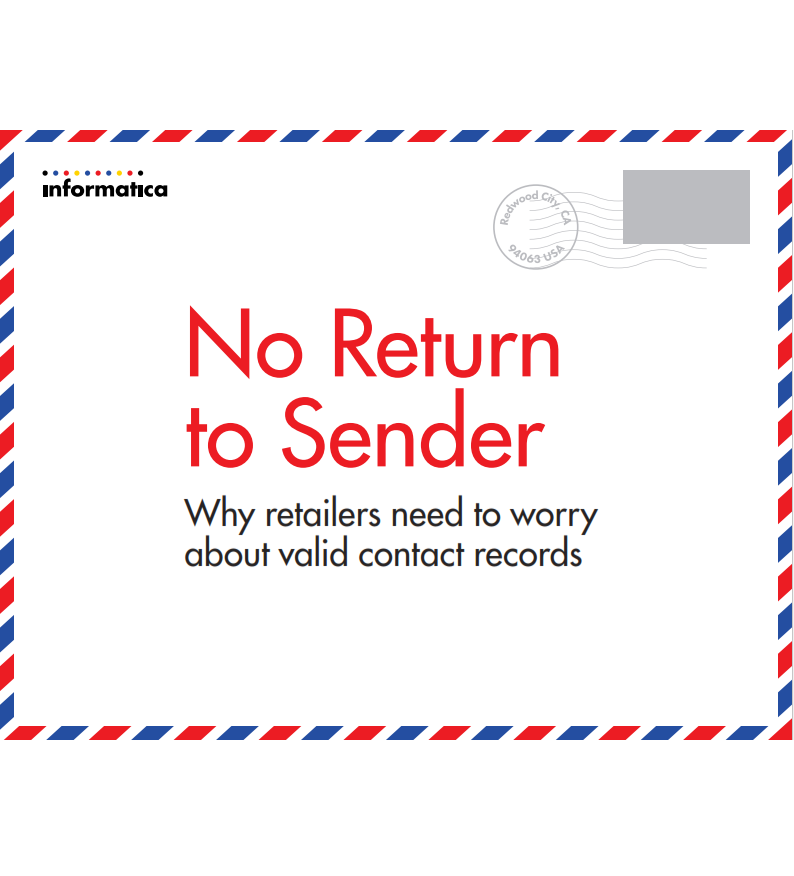No Return to Sender: Why Retailers Need to Worry About Valid Contact Records