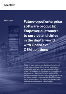 Future-proof Enterprise Software Products
