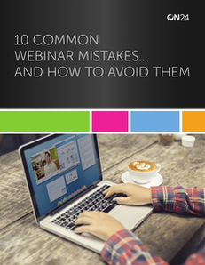 10 Common Webinar Mistakes…and How to Avoid Them