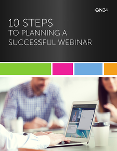 10 Steps to Planning a Successful Webinar