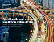 Operations Through a Business Lens: HPE Operations Bridge Technology Integrations