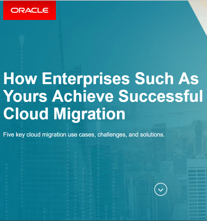 How Enterprises Such As Yours Achieve Successful Cloud Migration