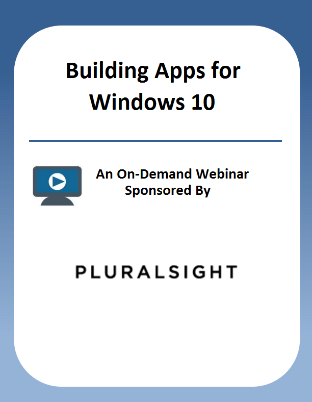 Building Apps for Windows 10