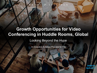 Growth Opportunities for Video Conferencing in Huddle Rooms, Global