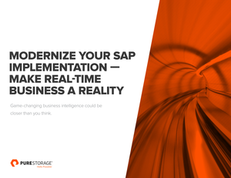 Modernize Your SAP Implementation — Make Real-Time Business a Reality