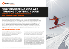 Why Pioneering CIOs are Turning to Hybrid Cloud