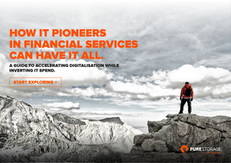 How IT Pioneers in Financial Services Can Have It All