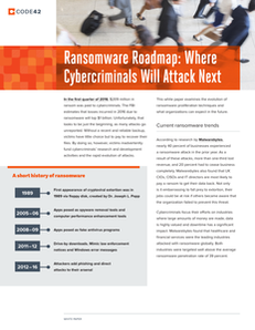 Ransomware Roadmap: Where Cybercriminals Will Attack Next