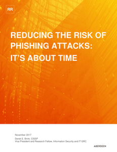 Reducing the Risk of Phishing Attacks Whitepaper