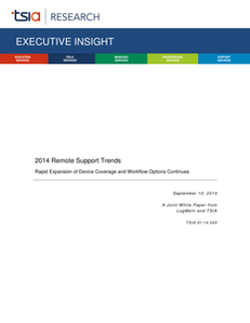 2014 Remote Support Trends