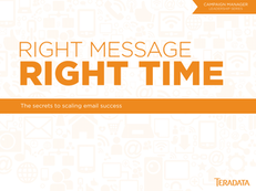 Right Message, Right Time