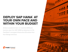 Deploy SAP Hana at your own pace and within your budget