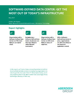 Software-Defined Data Center: Get the Most Out of Today's Infrastructure