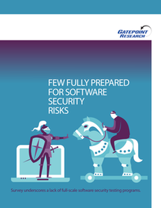 Few Fully Prepared for Software Security Risks (SSA Whitepaper)